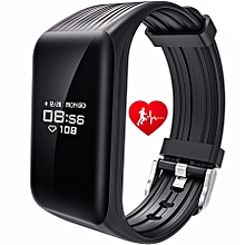 K1 Smart Bracelet Fitness Tracker Smart Wristband IP68 Waterproof OLED 24h Heart Rate Monitor Bluetooth Message Sync Notice Remind Sports PassometerSmart Band for Android IOS Phone GT0009