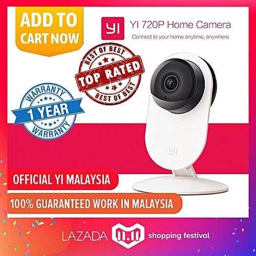 English Version XiaoMi XiaoYi Ants Smart YI Home 720P HD 8MP Wifi IP HD  Night Vision Infared IR Camera CCTV Video Recorder TXSHOP