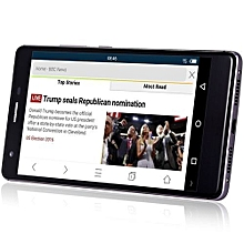 AMIGOO A5000 5.5 Inch Android 5.1 4G Phablet MTK6735 1.3GHz Quad Core 1GB RAM 8GB ROM Fingerprint Scanner GPS Dual Cameras WiFi