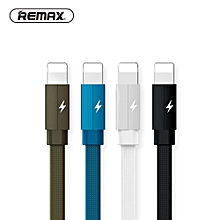 REMAX 1M Kerolla USB 8 Pin Data Cable for Iphone 7/8 Braided 2.1A Charger Tranfer Cable for Iphone 6/5s/X 8s DIOKKC