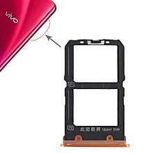 2 x SIM Card Tray for Vivo X23(Orange)
