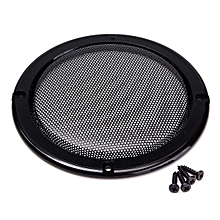 "1pcs 5"" inch Black Audio Speaker Cover Decorative Circle Metal Mesh Grille Black"