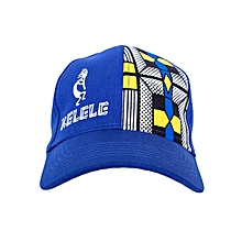 Royal Blue And Blue Baseball / Sports Hat With Kelele Color On Panel