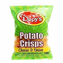 Potato Cheese And Onion Crisp - 100g