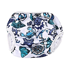 Reusable Baby Unisex Swim Diapers Swimming Pool Training Pants With Snaps #3