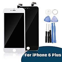 LCD Display Touch Screen Digitizer Assembly Replacement+ Tools For iPhone 6 Plus White