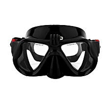 UJ Underwater Camera Plain Diving Mask Scuba Snorkel Swimming Goggles For GoPro