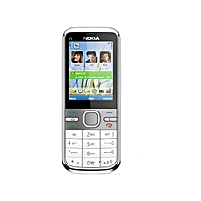 Nokia C5-00 3G Mobile Phone - White