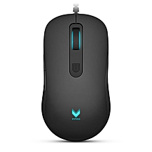 Rapoo V22 3000DPI 7 Buttons Programmable Optical Gaming Mouse Backlight USB Wired Mouse
