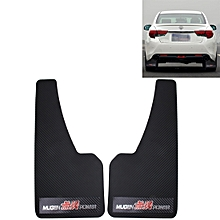 A Pair 3D Carbon Universal Racing Mudflaps Mud Guard Mudguards Fender