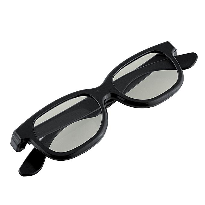 54a40e54961 ... Black Round Polarized 3D Glasses for DVD LCD Video Game Theatre TV  Theatre Movie ...