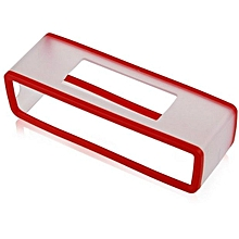 Travel Box Silicone Carry Case Bag for BOSE SoundLink Mini Bluetooth Speaker -red