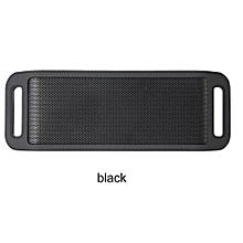 S816 Mini Wireless Smart Metal Portable Bluetooth Speaker Handfree Stereo Speakers For PC Laptop Iphone Smartphone(Black)