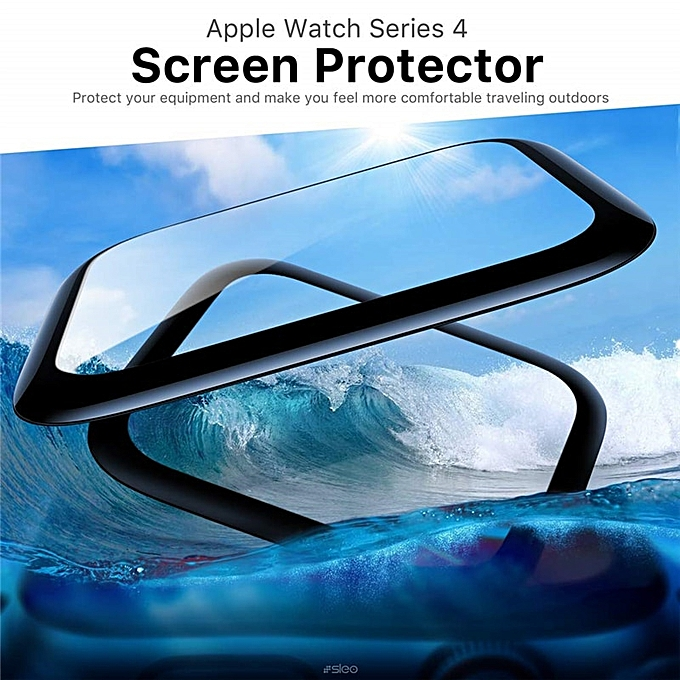 3D Full Cover Tempered Glass For Apple i Watch Series 4 3 2 1 38 40 42 44mm  HD Clear Screenprotector Film For apple watch glass