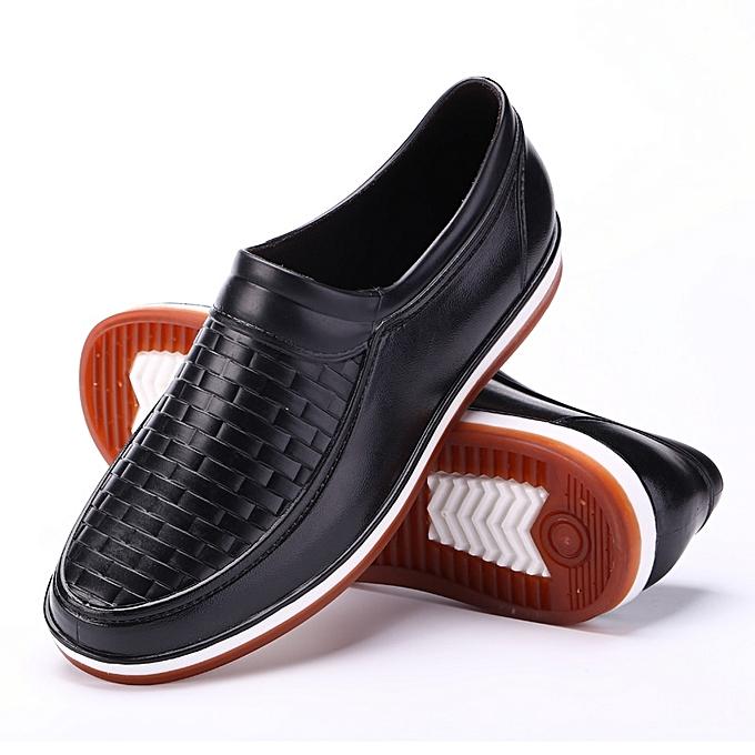 Fashion Adult Rain Boots Men S Low Help Short Tube Non Slip
