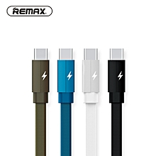 REMAX 2M USB Type C Data Cable USB C Braided Cable Type-c Charger Tranfer Cable for Xiaomi Mi5/Samsung S8 /OnePlus 2 DIOKKC