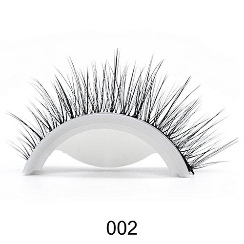 349c35a98a1 Generic 3D Mink Reusable Self-adhesive False Eyelashes Natural Curly Thick No  glue Fake Eyelashes Make-up Tools Eye Lashes Extension(2)