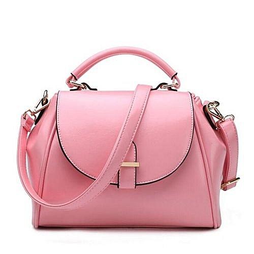 Women s Handbag 2016 Vintage Fashion Messenger Bag Handbag Female Shoulder  Bag Luxury Women Handbag(Pink e5d4627fae