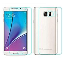 bluerdream-Candy Front+Back Tempered Glass Film Screen Protector For Samsung GALAXY Note 5-As Shown