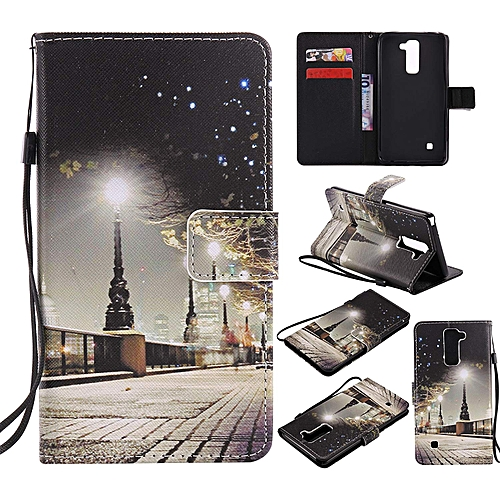 size 40 82778 6e75c LG Stylo 2 / Stylo 2 Plus / Stylo 2 V Leather Wallet Case with Kickstand  Credit Card Holder Magnetic Closure Shockproof Flip Case Cover for LG Stylo  2 ...