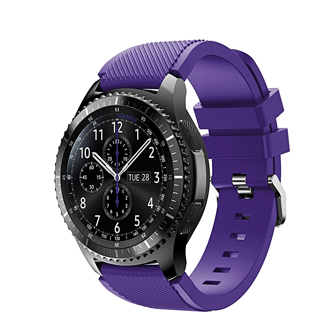 31456c108f Sports Silicone Watch Band Strap for Samsung Galaxy Gear S3 Classic SM-R770  S3 Frontier