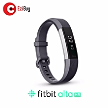 """Fitbit Alta HR Heart Rate + Fitness Wristband Small 5.5"""" - 6.7"""" (GRAY) BDZ Mall"""