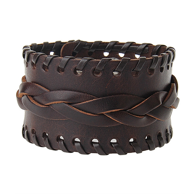Leather Bracelets Rope Wearing Fashionable Men S And Women Hot Ing Wide