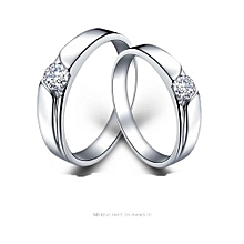 92.5 Sterling Silver Couple  Rings