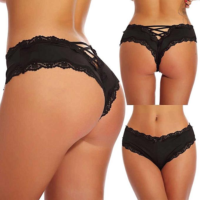 c49feff8966 Koadong Shop Women Sexy Bandage Lace Panties Lingerie Underwear Seduction  Underpants