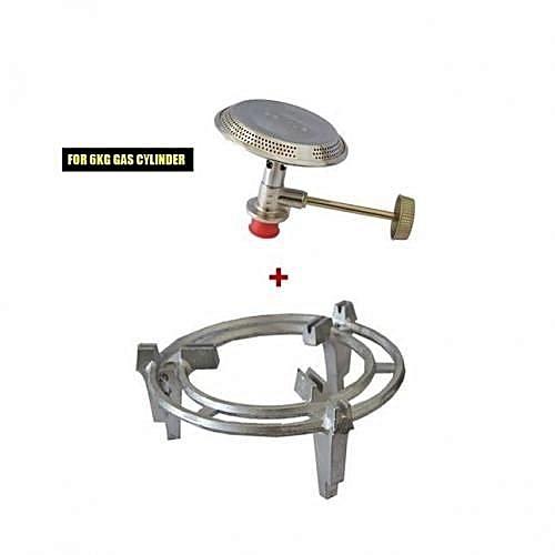 Gas Burner + Meko Gas Grill 6kg Meko