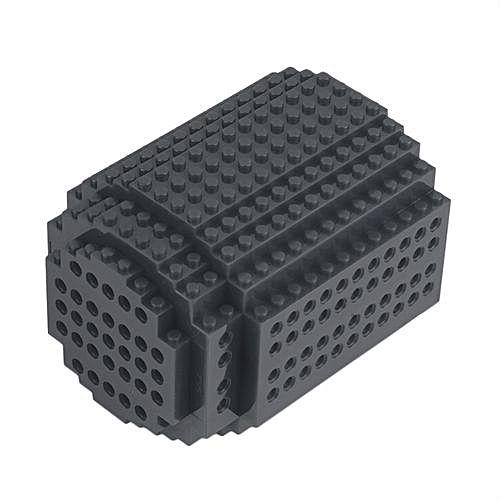 Gray Red Brick Building Block : Unique diy building blocks mug cup build on brick