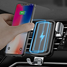 Cafele 10W Fast Qi Wireless Charging Gravity Auto Lock Car Phone Holder Stand for Samsung S8 S7