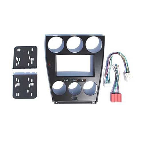 Buy Generic Mazda 6 Black Double Din Dash Kit Radio Stereo Wiring Rhjumiacoke: Mazda 6 Dash Harness At Gmaili.net