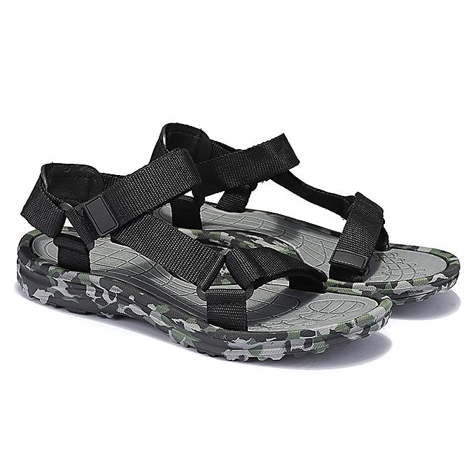 cbb6de7ce Men Casual Camo Sandals Outdoor Fisherman Shoes Hiking Beach Walk Soft  Slippers