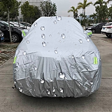 PEVA Waterproof Sun Protection Car Cover Dustproof Rain Snow Protect Cover Car Covers with Warning Strips for Smart, Fits Cars up to 2.7m in Length
