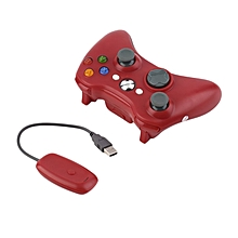 Wireless Bluetooth Controller Joystick Gamepad USB Charge For XBOX 360 -red
