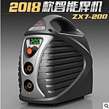 Digital Smart Welding Machine 220V ZX7-200 Mini Welder IGBT Inverter MMA ARC Black
