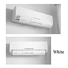 Air Conditioner Wind Shield Anti Direct Blowing Baffle Board Wind Gas Deflectors White