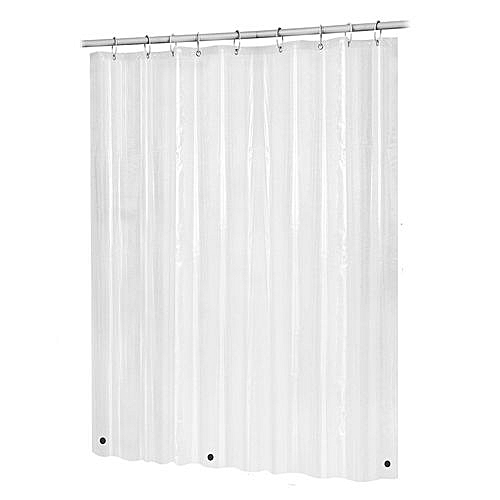 Generic Houseworkhu Bath Shower Curtain Liner Clear Non Toxic Mold Resistant Waterproof Bathroom