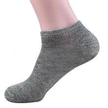 Men Cotton Ship Boat Short Sock Ankle Invisible Socks Warm Winter GY