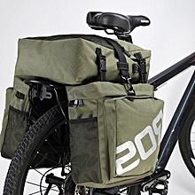 37L Durable Water Resistant 3 in 1 Bicycle Rear Pannier Bag