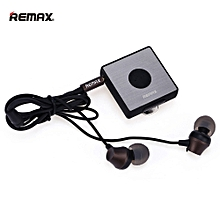 Remax RB-S3 Sports Lavalier clip Clip-on Bluetooth Headset Wireless Stereo Earphone Bluetooth FM Radio fone de ouvido Earphones  OPTTCOOL