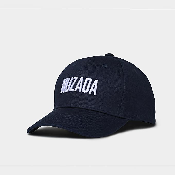 Fashion Men Outdoor Embroidered Baseball Cap Simple Women Cotton Peaked Cap  Black c05d0b2da83