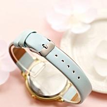 guoaivo LVPAI Watches Women Quartz Wristwatch Clock Ladies Dress Gift Watches -Sky Blue