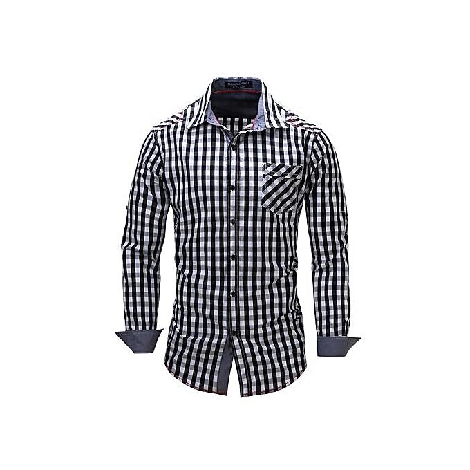Pendleton Mens Canyon Ombre Plaid Shirt Black Hi Res
