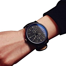 Minimalist Personality Big Dial Watch - Black