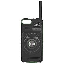NO1 Ip01 Outdoor Multifunctional Wireless Handheld Walkie Talkie-SEA GREEN