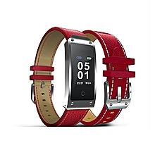 Sports Watch Wristwatch Durable 0.96 Inch TFT Waterproof Heart Rate Monitors Information Push Bluetooth Smart Watch Anti Lost