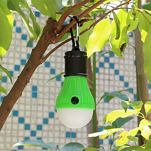 Outdoor Portable Hanging LED Camping Tent Light Bulb Fishing Lantern Lamp GN