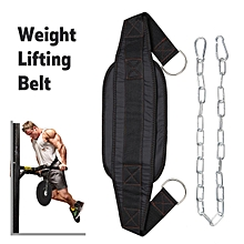 Adjustable Weight Lifting Belt Pull-Ups Body Muscle Trainer Chain Equipment Tool